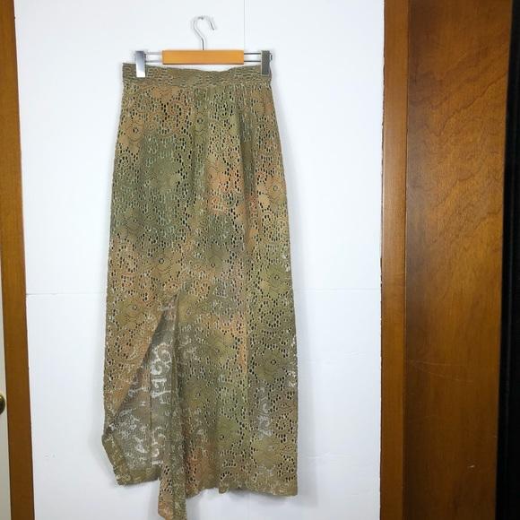 Vintage Crotchet Maxi Skirt Sz 7/8
